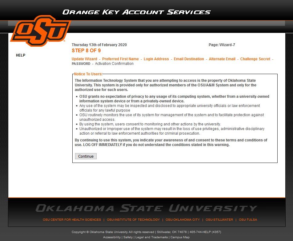 8a-9 Change Password